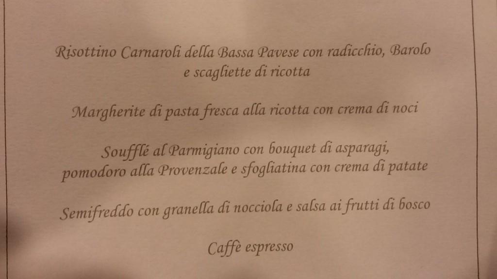 menu forza italia