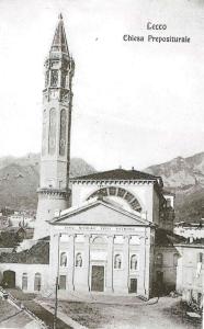 Basilica di San Nicolò, Lecco, 1910