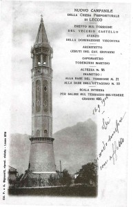 Campanile Basilica di San Nicolò, 1904