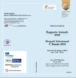programma fondazione provincia