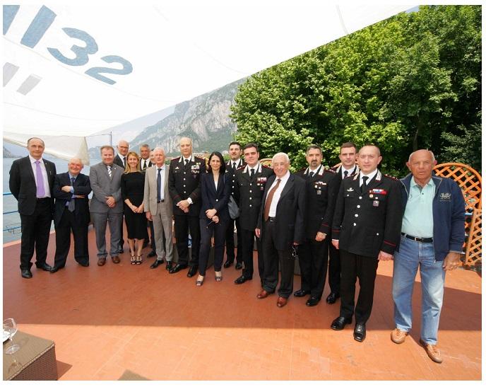 GENERALE DEI CARABINIERI IN VISITA ALLA STAZIONE DI LECCO - LECCO 3 GIUGNO 2015