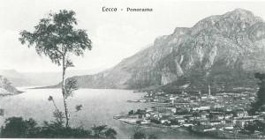 Panorama Lecco, inizio Novecento