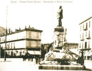 Piazza Cermenati, Lecco, periodo fascista