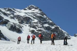 Sul ghiacciaio del Ventina 6(foto Luca Maspes)