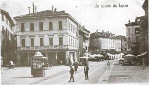 Piazza XX Settembre, Lecco, 1902
