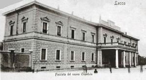 Vecchio Ospedale, Lecco, 1900