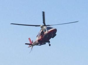 elicottero pompieri vvf colico volo