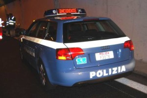 polizia-stradale-incidente-galleria
