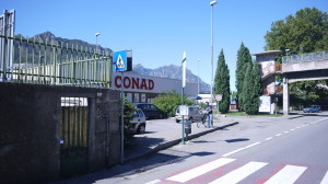 Fig. C - Ingresso Parcheggio Conad, Chiuso, 2015