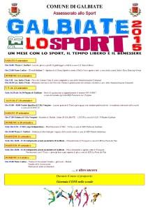 Galbiate x lo Sport 2015-01