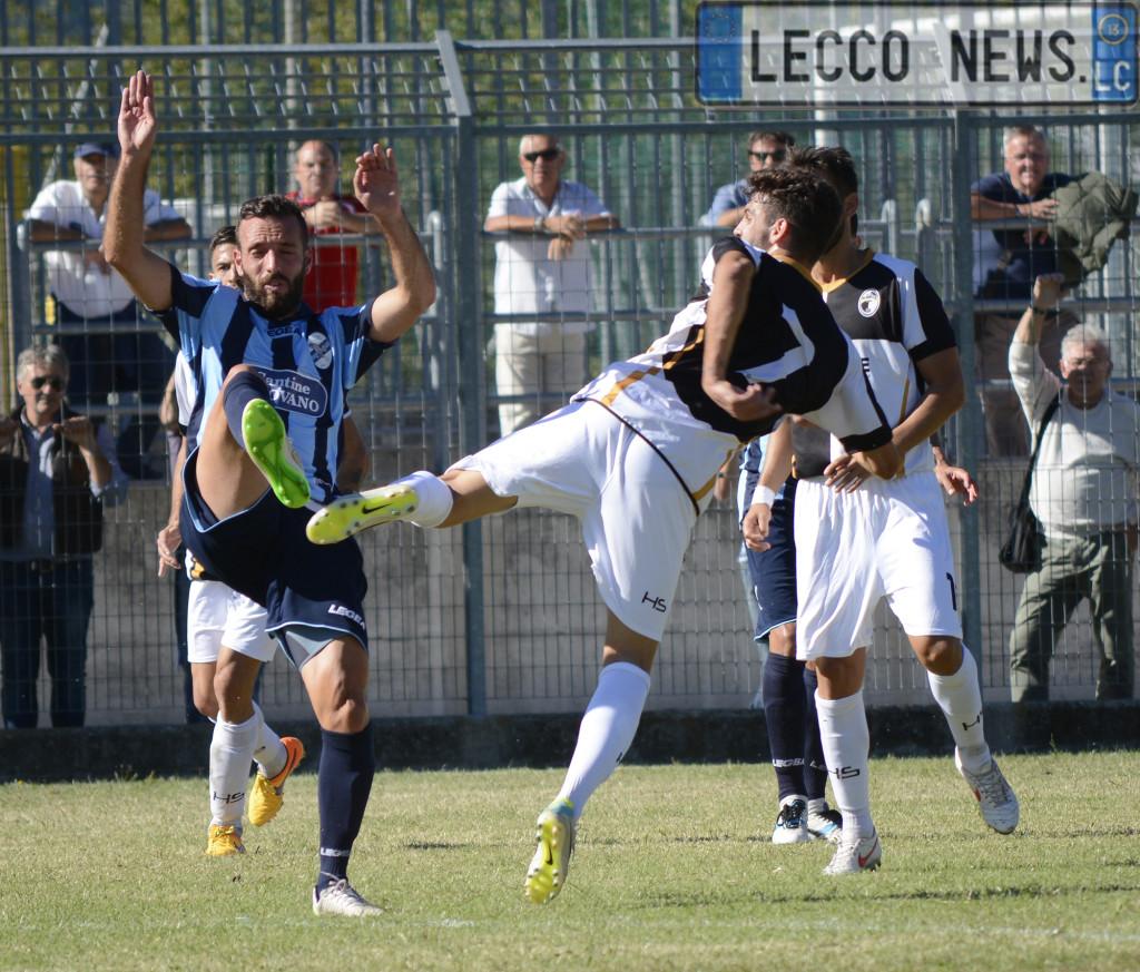 Olginatese Calcio Lecco azione 13