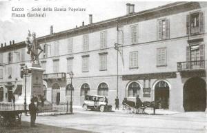 Sede della Banca Popolare di Lecco, 1921