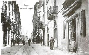 Via Roma, Lecco, 1907