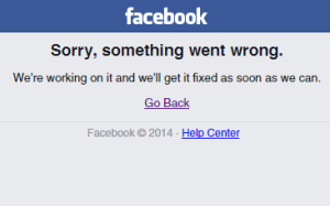 facebook down piccolo