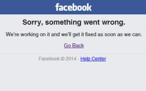 facebook down piccolo