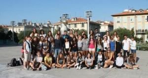 liceo manzoni stage Nizza museo MAMAC