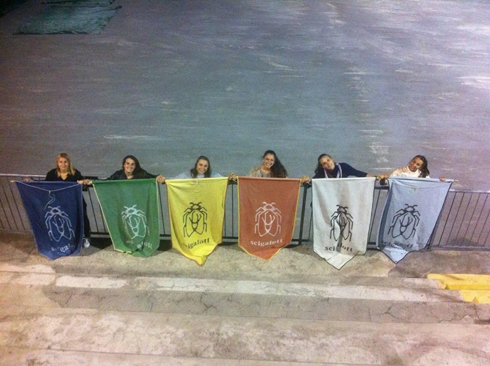 scigalott acquate bandiere