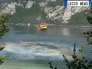 sub moregallo elisoccorso lago elicottero