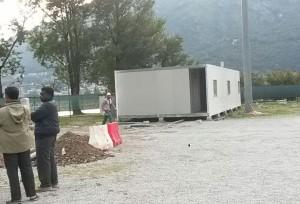 tendopoli migranti container bione 3
