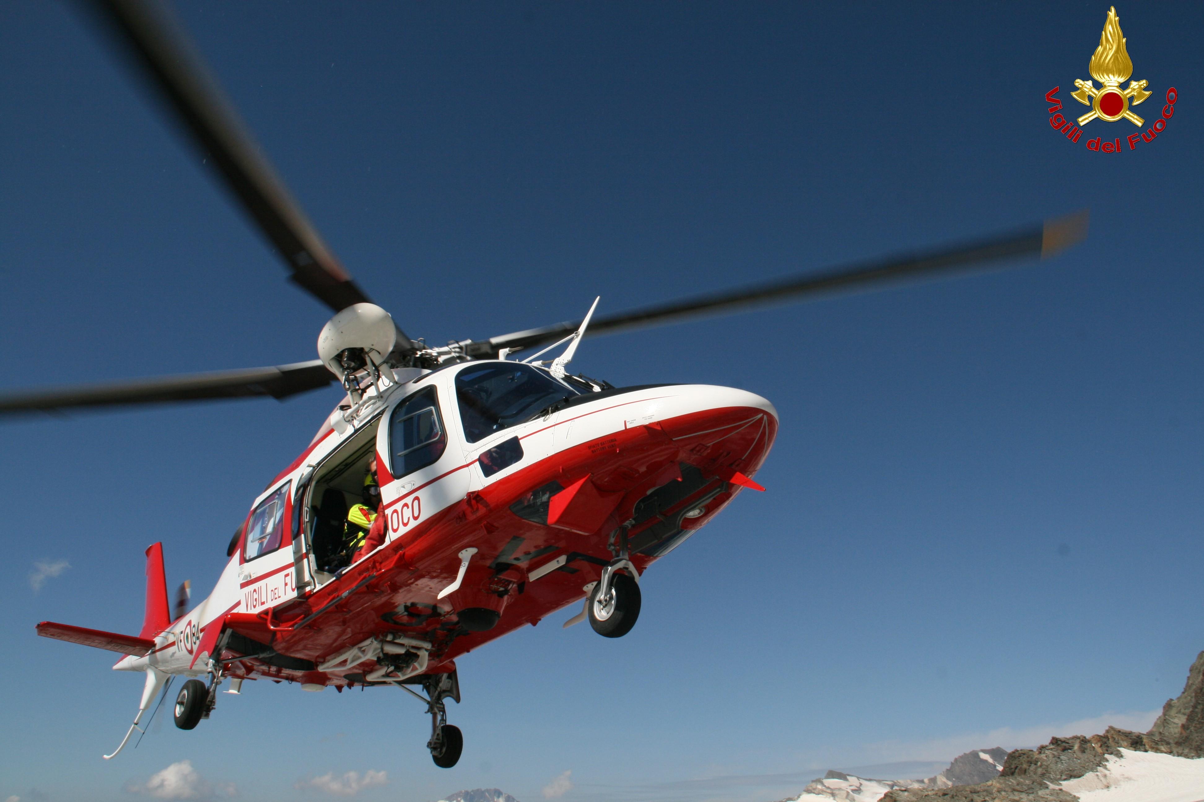 """Elicottero Drago 84 : Colico ritrovato il corpo del """"fungiatt disperso"""