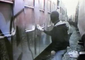 writers treni vandali