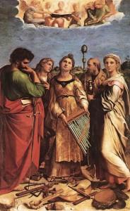 Estasi-di-Santa-Cecilia-di-Raffaello-Sanzio-Pinacoteca-nazionale-di-Bologna-629x1024