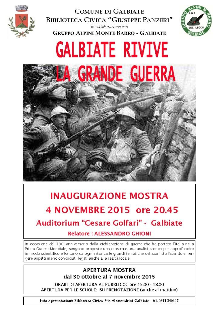 Galbiate e la Grande Guerra-01