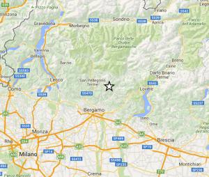 terremoto sisma BG nov15