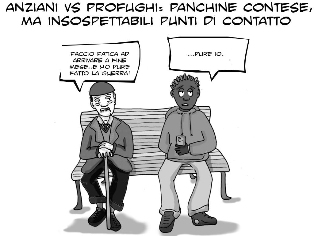 vignetta panchina