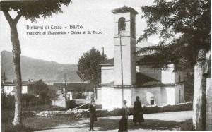 Chiesa di San Rocco, Maggianico, 1919