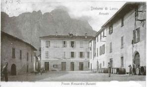 Piazza Alessandro Manzoni, Acquate, 1904