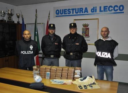 Marocchino, regolare e con figli, riforniva di droga il Lecchese