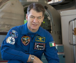 Paolo Nespoli in training at GCTC.