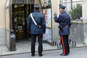 rapina dervio carabinieri