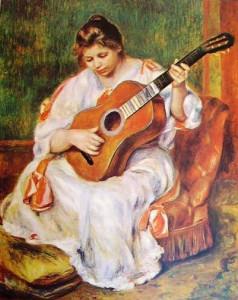 renoir lezione di musica