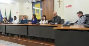 Gruppo lezioni al campo in Provincia