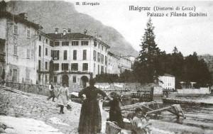 Palazzo e Filanda Stabilini, Malgrate, 1914