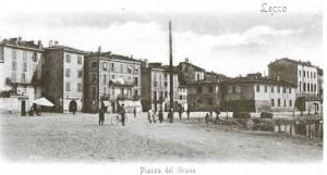 Piazza del Grano, Lecco 1900