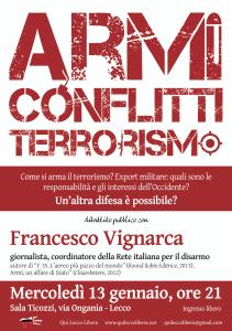 armi-conflitti-terrorismo qui lecco libera