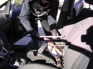 auto rubata carabineiri opel corsa 1