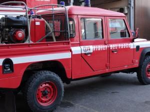 vigili del fuoco pompieri jeep