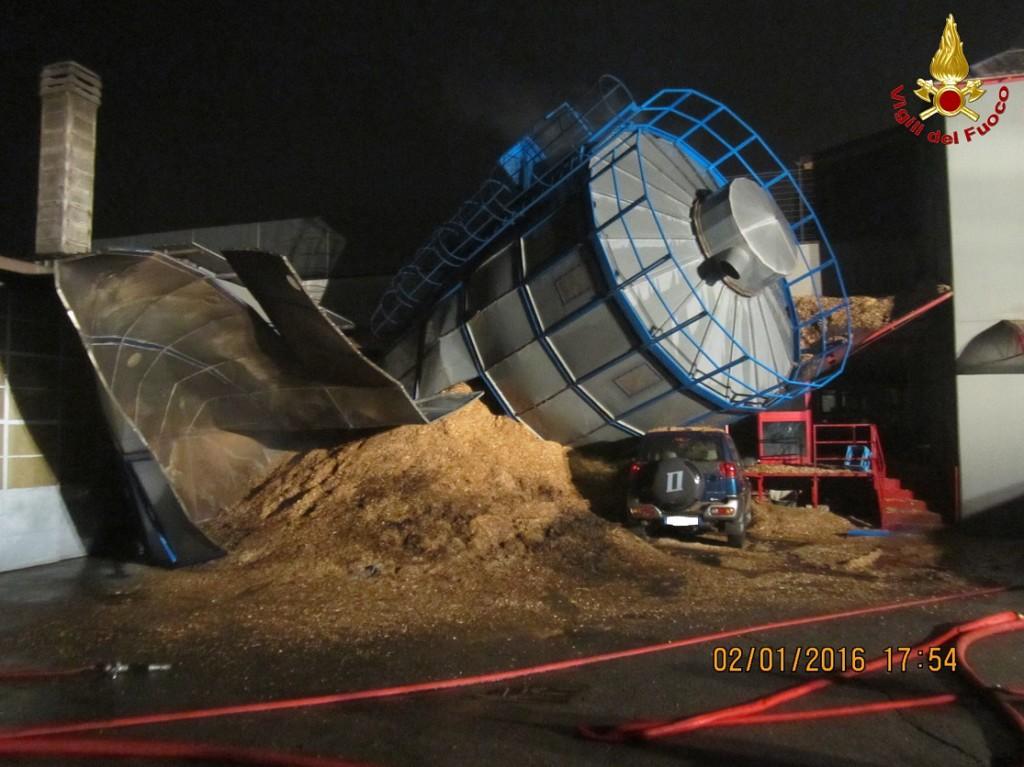 vigili fuoco silos osnago
