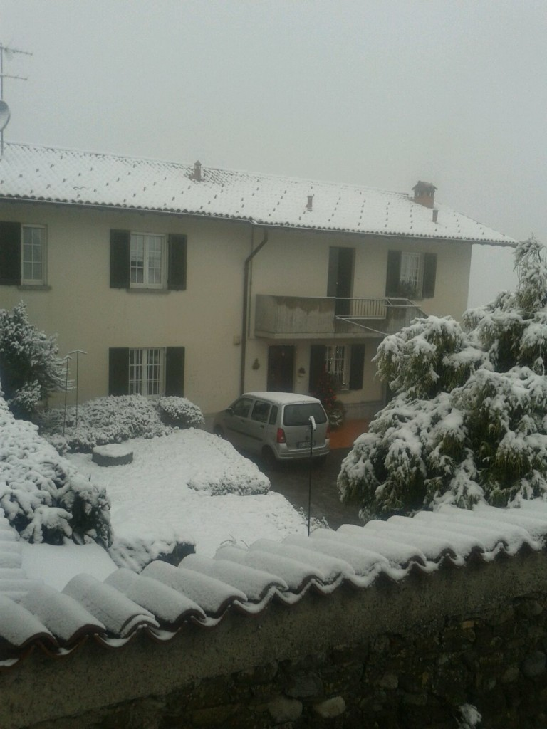 villa  vergano neve