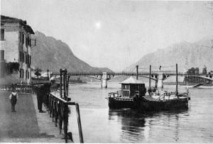 Ponte Vittorio Emanuele III, Olginate, 1924