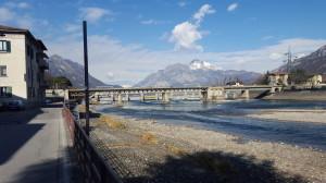 Ponte e Diga di Olginate, 2016