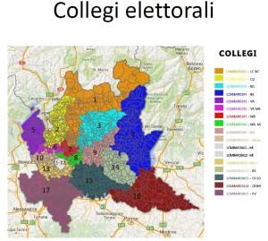 aree vaste 8 collegi elettorali