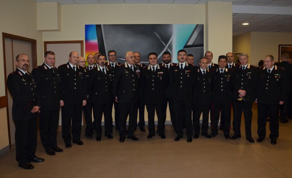 carabinieri visita LUZI reparti