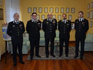 carabinieri visita LUZI ufficiali