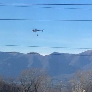 elicottero incendi