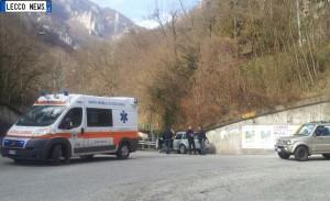 incidente ciclista investito lecco-ballabio ok